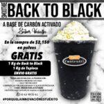 SMOOTHIE BACK TO BLACK (VAINILLA CREMOSA, CARBON ACTIVADO)1 KG